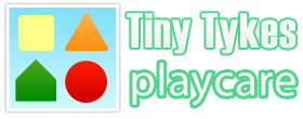 Tiny Tykes Playcare logo